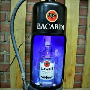 Zwarte Bacardi Brandblusser