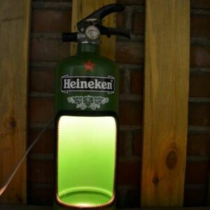 heineken brandblusserlamp